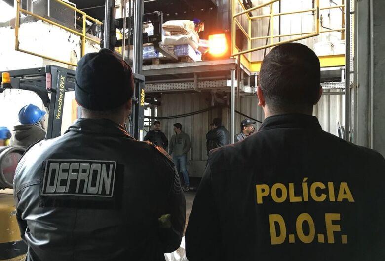 Pela nona vez no ano, Defron incinera toneladas de drogas em Dourados