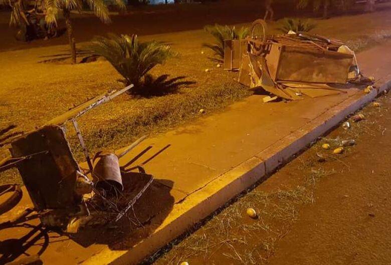 Catador de recicláveis morre atropelado na rua Coronel Ponciano