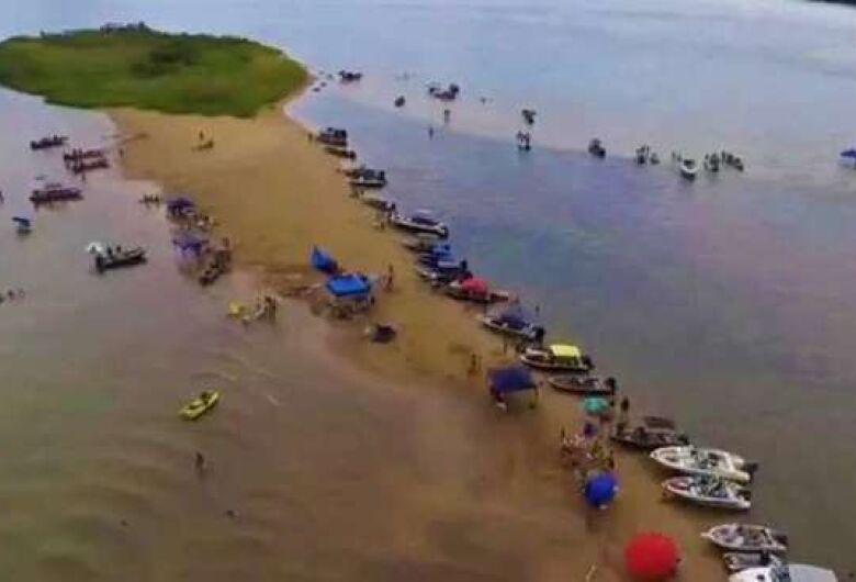 Pai e trigêmeos morrem afogados durante banho no rio Paraná