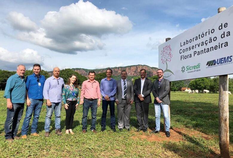 Sicredi e Uems inauguram Laboratório para conservação