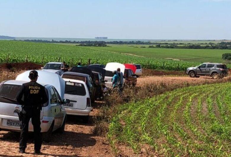 Dos 75 foragidos Penitenciária Regional de Pedro Juan, no Paragua, um foi capturado nesta manhã