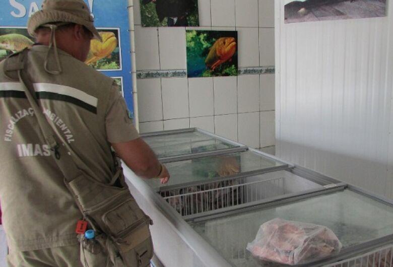 Operação Piracema apreendeu 369 kg de pescado e prendeu 32 pessoas em 2 meses