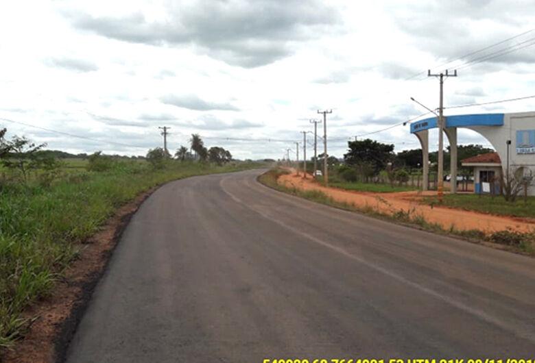Rota da Lagoa Azul, em Bonito, pavimentação asfáltica na MS-382 será retomada
