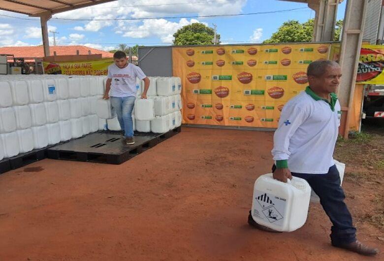 Saúde distribui aos municípios 9,6 mil litros de inseticida e 100 Kg de larvicida para combate a dengue
