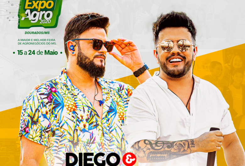 Diego & Victor Hugo é a quinta atração confirmada da 56ª Expoagro