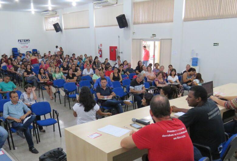 Professores de Ceims paralisam atividades a partir de segunda