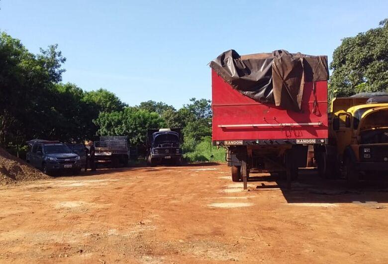 Operação combate furtos de caminhões e maquinários agrícolas