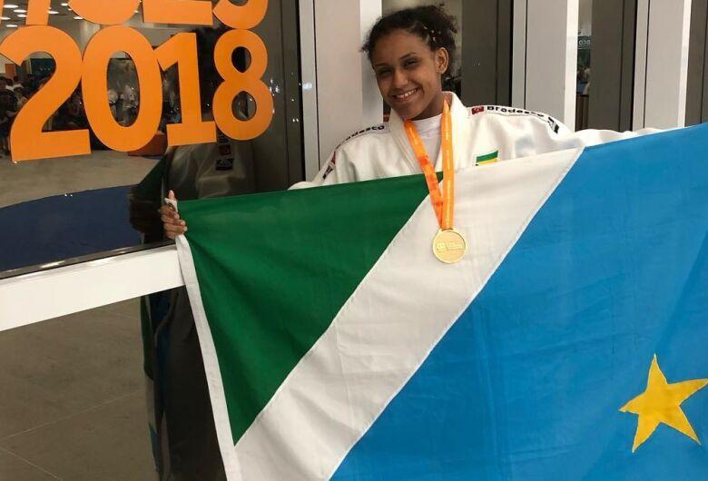 Judoca da Capital é convocada pela seleção brasileira principal