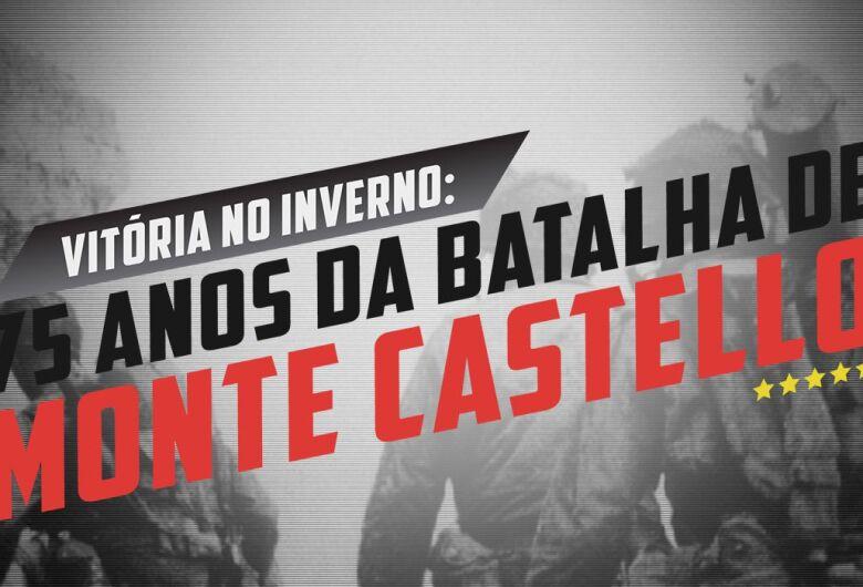 Completa amanhã, 75 anos da histórica tomada de Monte Castello