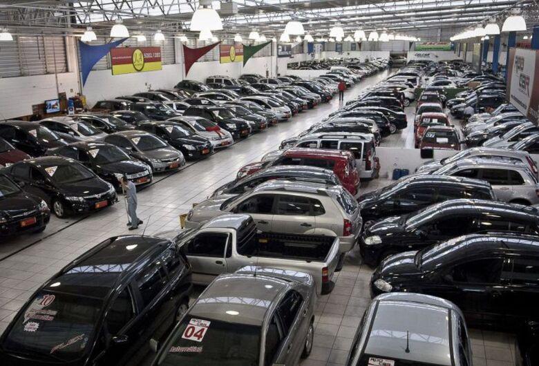 Venda de veículos cai 3,2% no Brasil em janeiro