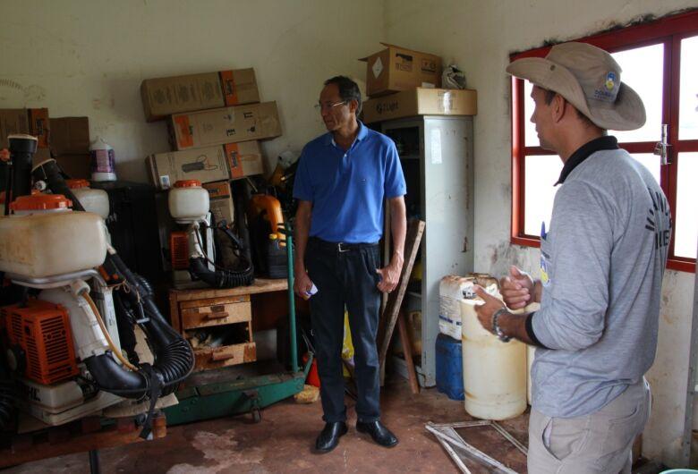 Vereador diz que prefeitura falha no combate a dengue