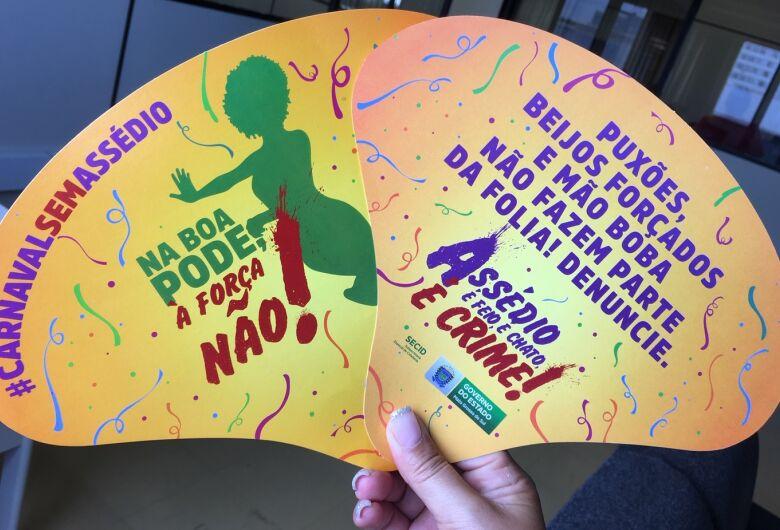 """Campanha carnaval sem assédio reforça: """"Na boa pode, à força não"""""""
