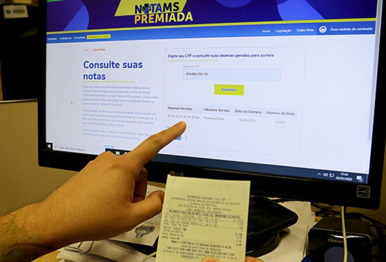 Nota MS Premiada: no primeiro mês do programa, mais de 5 milhões de notas foram emitidas com o CPF