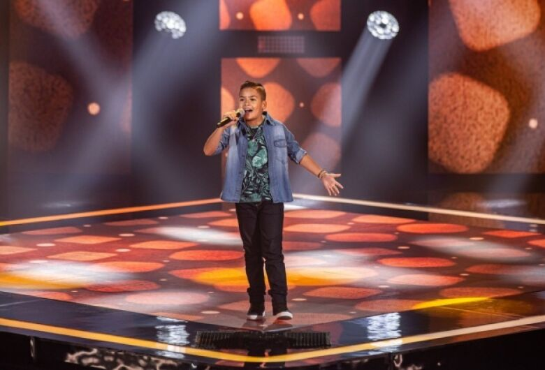 Sul-mato-grossense conquista vaga no The Voice Kids