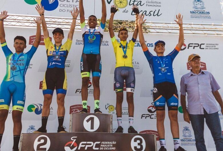 Na primeira competição nacional do ano, ciclista de Chapadão do Sul vai ao pódio duas vezes