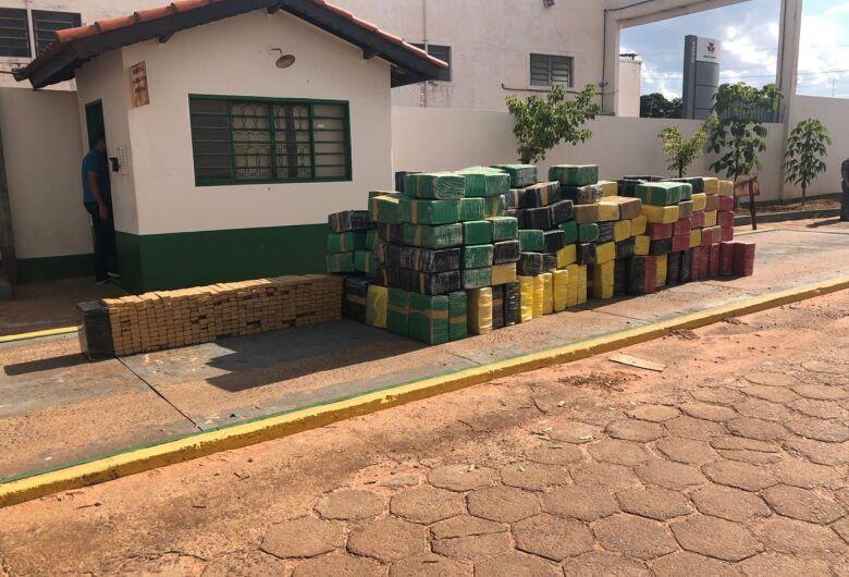 Motorista que saiu de Naviraí é preso em SP com mais de 7 toneladas de maconha