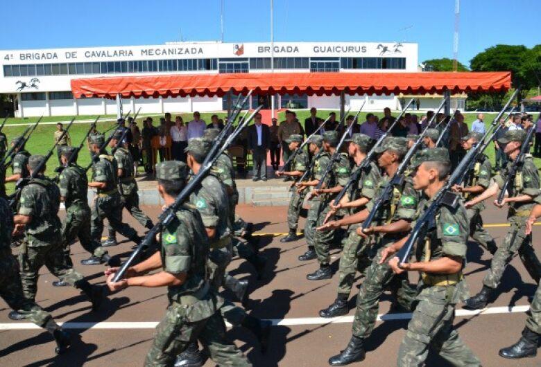 Prefeitura pede ao Exército apoio para monitorar os limites de Dourados