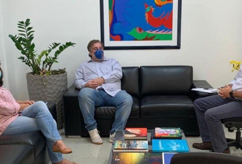 Delia discute com o Governo de MS estratégias para enfrentar coronavírus
