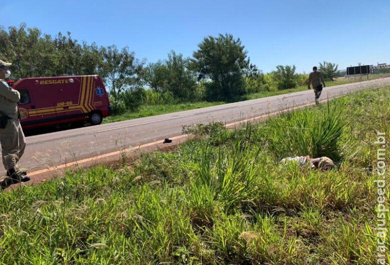 Homem é encontrado morto às margens de rodovia