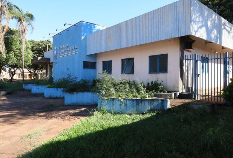 Centro Homeopático de Dourados será reformado