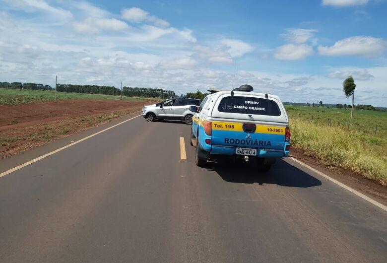 Traficantes tentam fugir mas acabam presos pela polícia em rodovia de MS