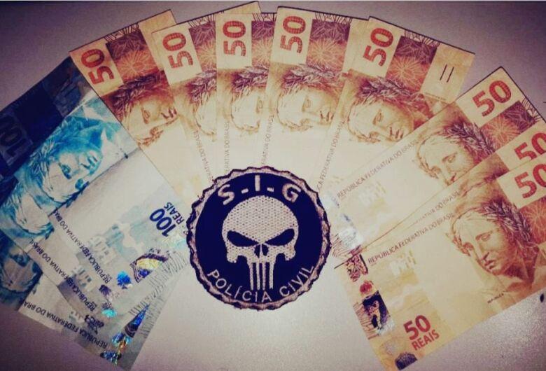 Criminosos que passavam notas falsas em comércios são presos em Ribas do Rio Pardo