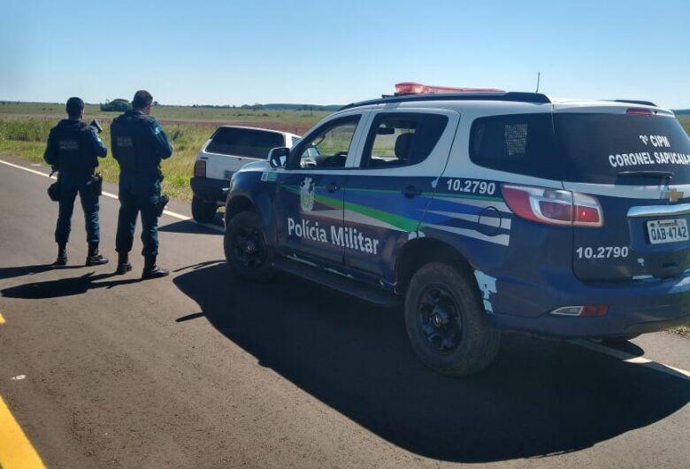 Polícia Militar prende condutor que transportava maconha e tentou fugir ao ver bloqueio policial