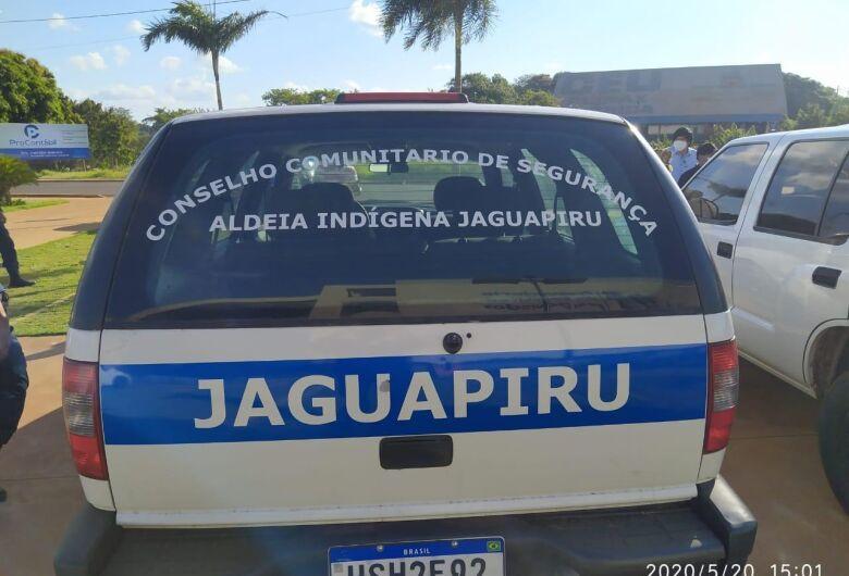 Sejusp entrega veículos de segurança nas aldeias de Dourados e Caarapó