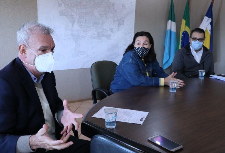 Em agenda com Geraldo e Délia, Alan Guedes diz que só união efetiva de esforços e despolitização das ações garantirá sucesso nas medidas de contenção