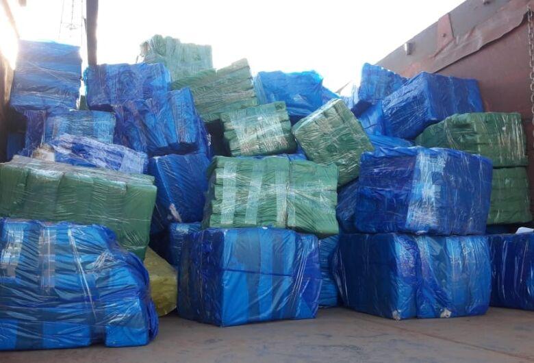 Traficante é preso transportando mais de 4 toneladas de maconha