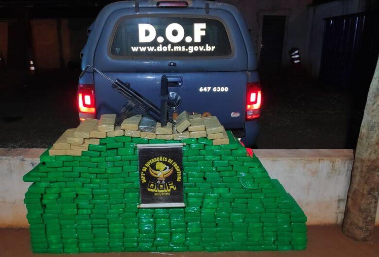 Veículo que seguia para Bahia com droga é apreendido pelo DOF