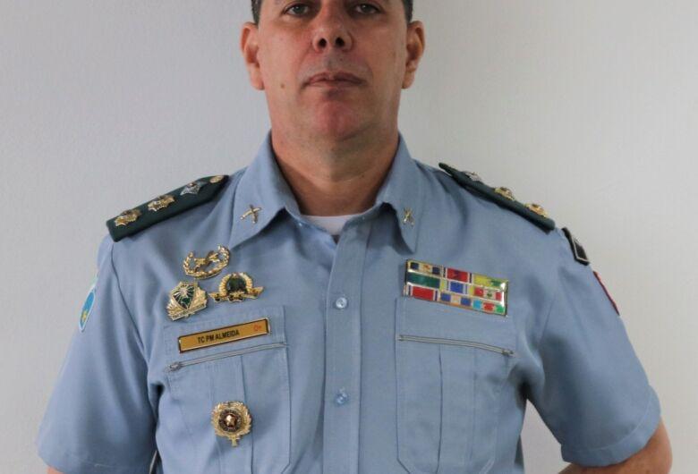 Tenente-coronel Almeida assume o comando da PM de Dourados