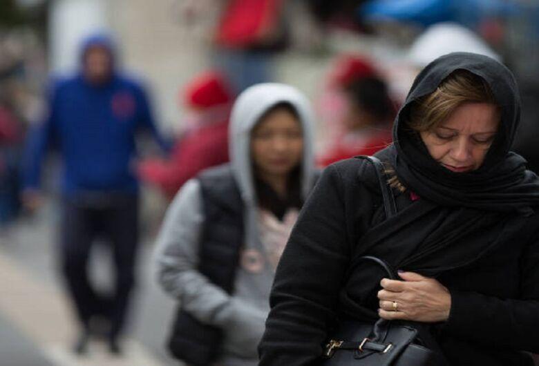 Frio, chuva e o aumento da circulação de vírus respiratórios