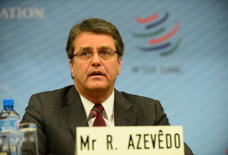 Roberto Azevêdo deixará direção da OMC em 31 de agosto