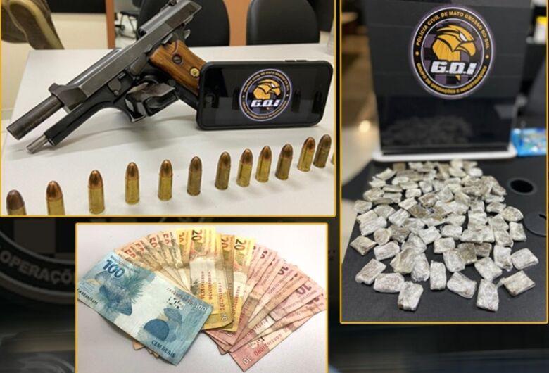 Menor é apreendido por tráfico de drogas e porte ilegal de arma