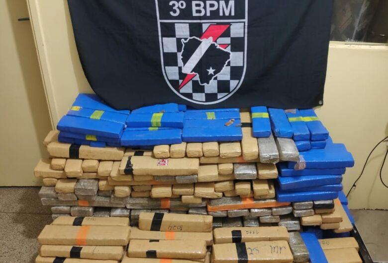 Três são presos em deposito com quase 400 quilos de droga no Santo André