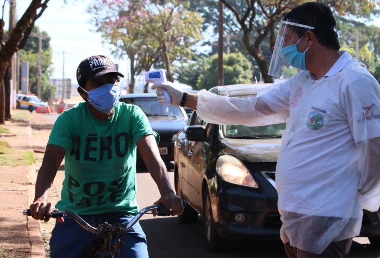 Barreira sanitária inspeciona mais de 7 mil pessoas no fim de semana em Dourados