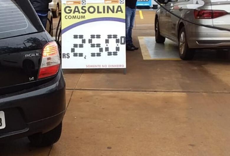 Posto inaugura hoje em Dourados e vende combustível sem cobrar impostos