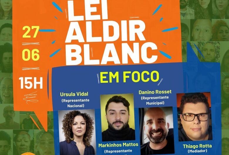 Fórum Permanente de Cultura dialoga sobre Lei Aldir Blanc em Dourados