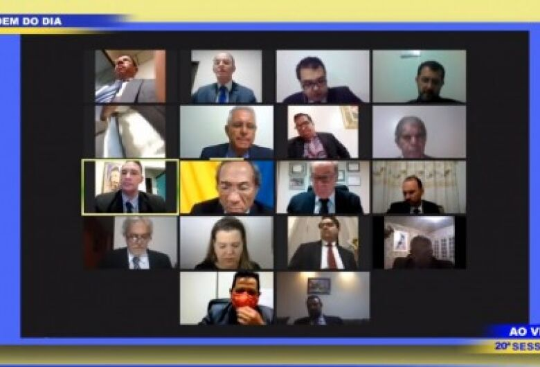 Geraldo Resende e Renato Câmara participam da sessão ordinária desta segunda-feira, 29