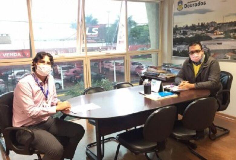 Em reunião com Alan Guedes, PreviD solicita participação no debate sobre PLC que suspende débitos previdenciários no município