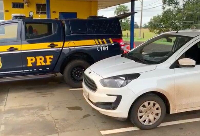 Carro furtado em Minas é recuperado em Campo Grande
