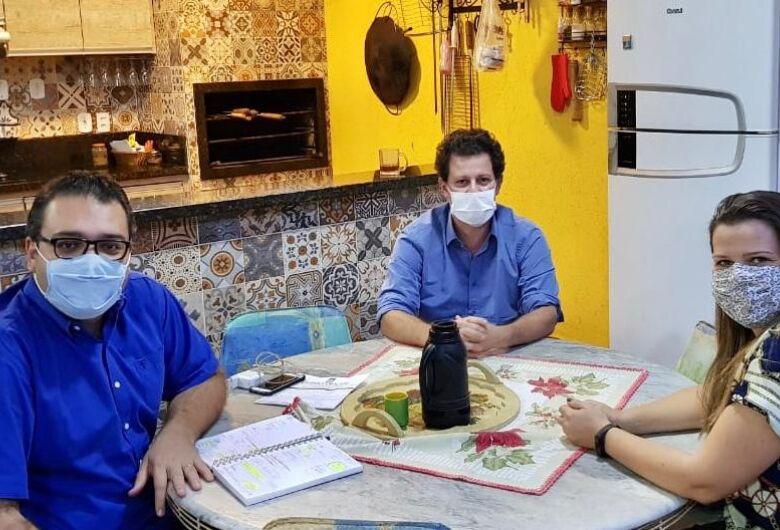 Renato Câmara e vereadores debatem   ações contra o Covid-19 em Dourados