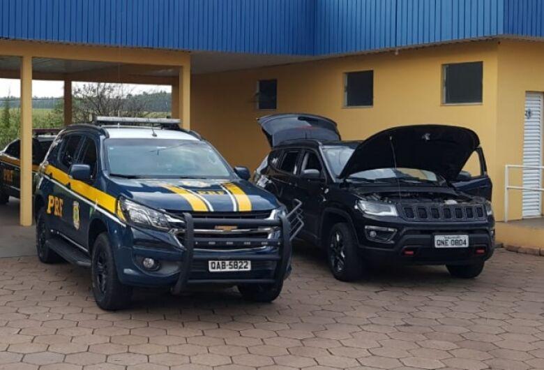 PRF recupera em MS veículo roubado no início do ano no Rio de Janeiro