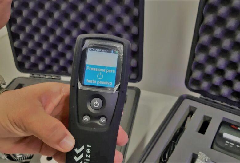 Detran-MS agora conta com bafômetro que detecta embriaguez à distância
