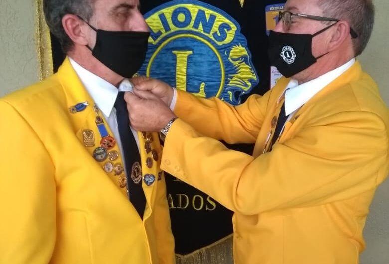 Lions Clube Dourados dá posse à Nova Diretoria do AL 2020/2021.