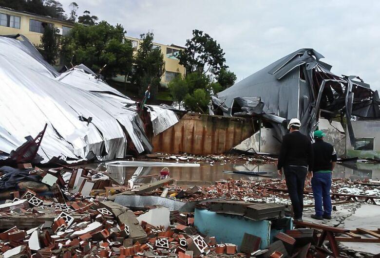 Defesa Civil levanta danos causados pela passagem de ciclone em SC