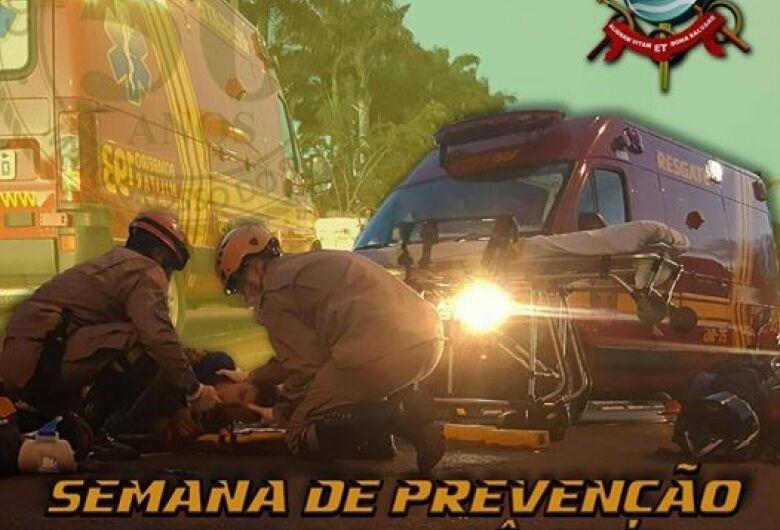 Bombeiros militares realizam semana de prevenção contra o incêndio