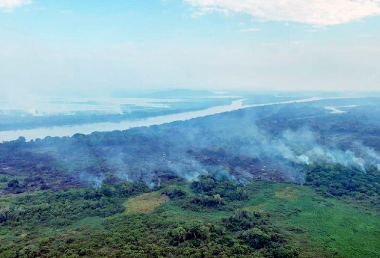 Com incêndio se propagando no Pantanal, tempo seco será crítico até setembro