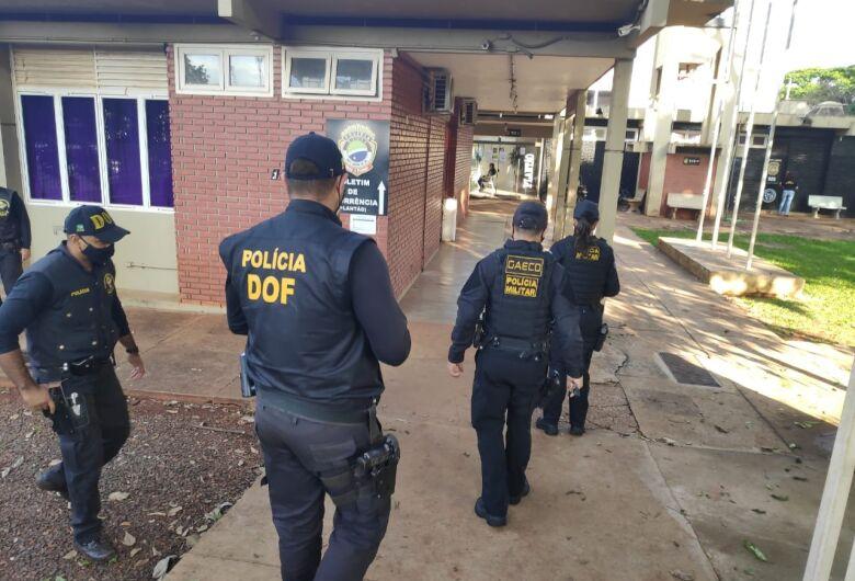 Operação 'Bonde da Rua' mira membros do PCC em 4 cidades de MS